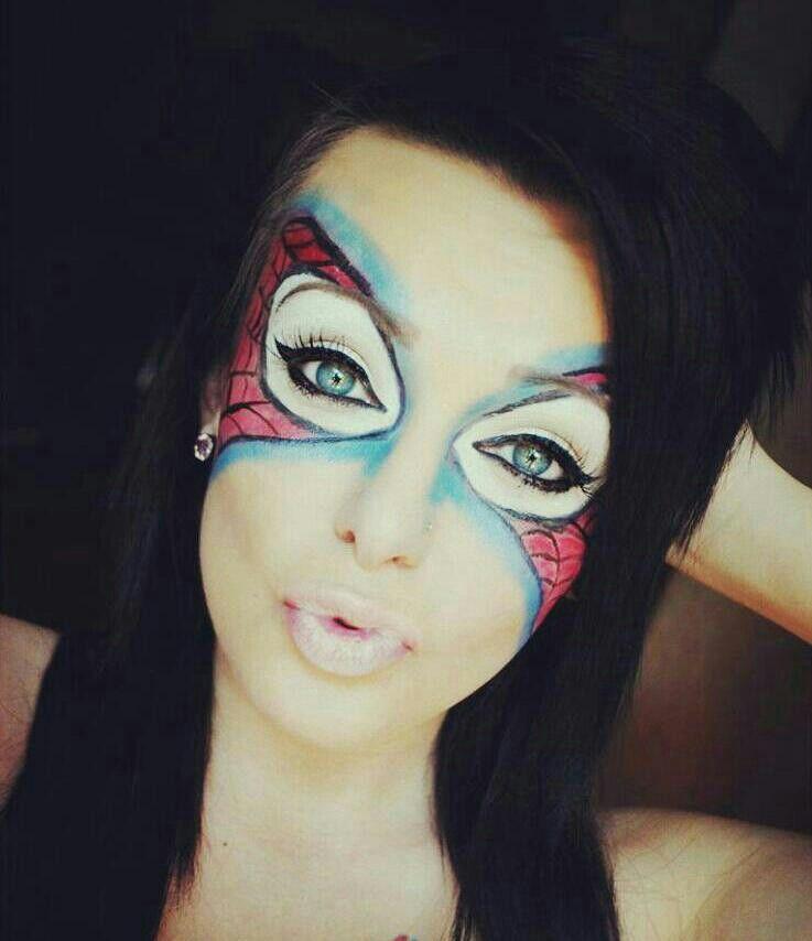 Halloween makeup Spider man! :) | Halloween | Pinterest ...