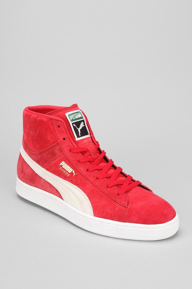 Puma Suede Mid-Top Classic Sneaker