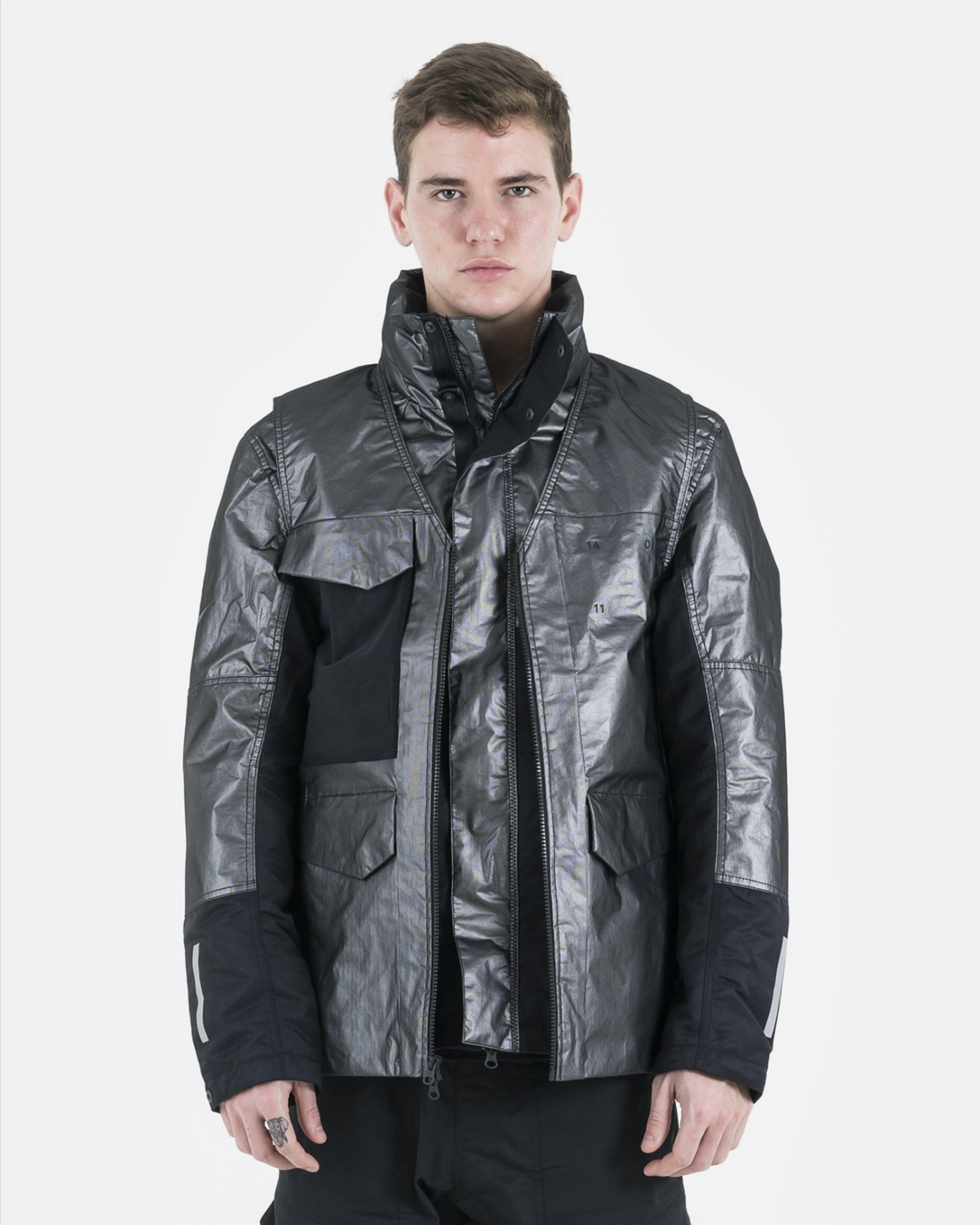 Nike Nsw 3 In 1 Tech Pack Jacket In Metallic Silver In 2020 Jackets Versatile Fashion Metallic Silver And Black