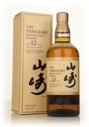 Yamazaki 12 Year Old Whisky Malt Whisky Whiskey