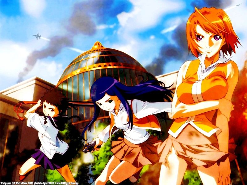 Mai-Hime Wallpapers - Mikoto Minami, Mai, Natsugi | Anime Addict ...