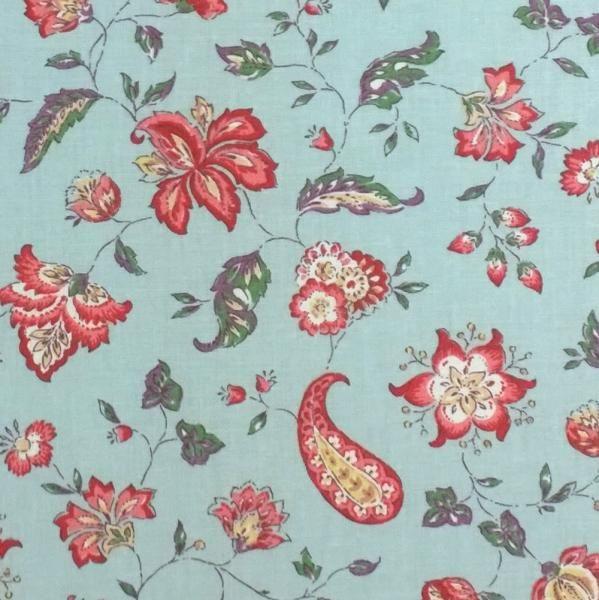 franz sischer vorhangstoff india ciel meterware 160 cm breit tapeten stoffe gardinen im. Black Bedroom Furniture Sets. Home Design Ideas