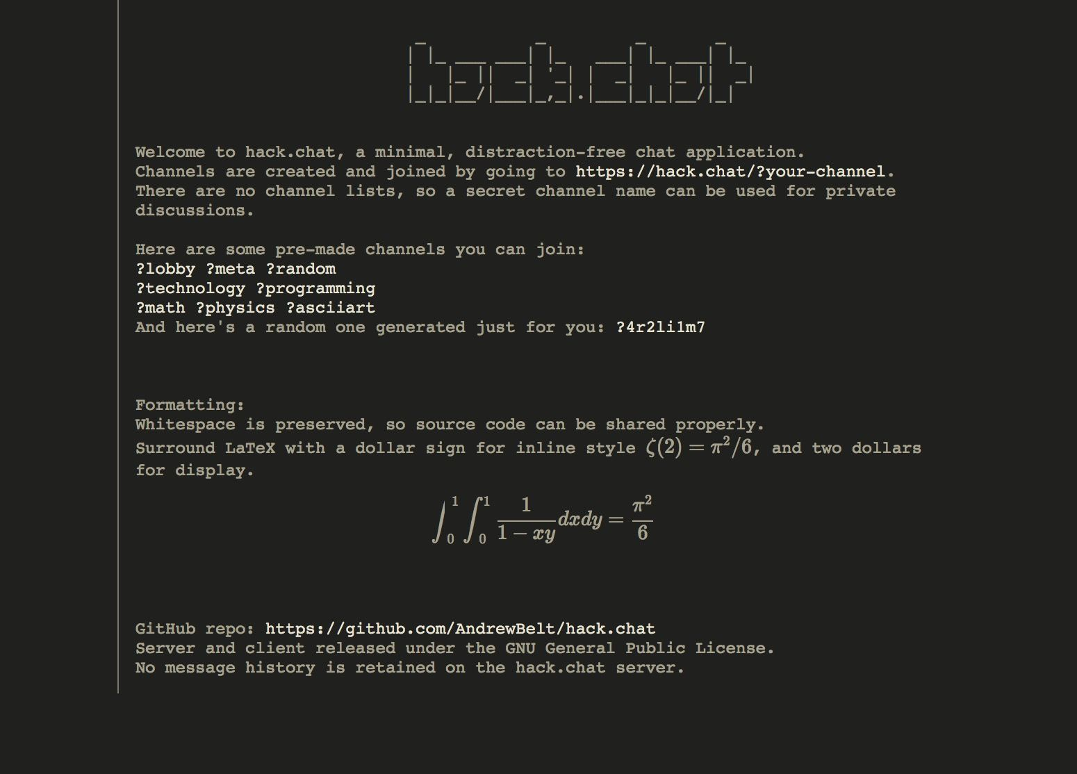 Create Your Own Private Disappearing Chatroom With Hack Chat Http Www Ipadsadvisor Com Create Your Own Private Disappearing Chatroom With Hack Ch Hacks Chat