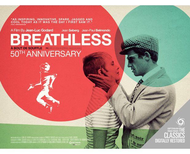 Breathless 50th anniversary restoration movies and stars