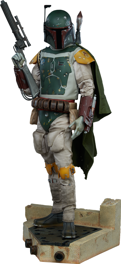Star Wars Boba Fett Premium Format Tm Figure By Sideshow Co Sideshow Collectibles Star Wars Boba Fett Boba Fett Star Wars Bounty Hunter