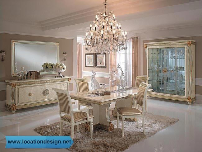 غرف سفرة كلاسيك ايطالي Living Room Decor Furniture Luxury Dining Room Italian Dining Room