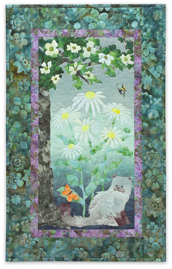 Pin By Kathryn Kraus Morris On For The Love Of Fabric Quilts Applique Quilt Patterns Landscape Quilts