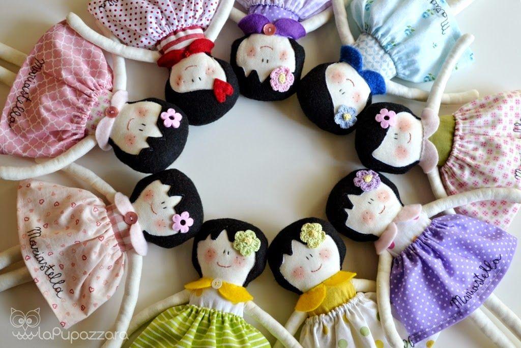 La Pupazzara dolls