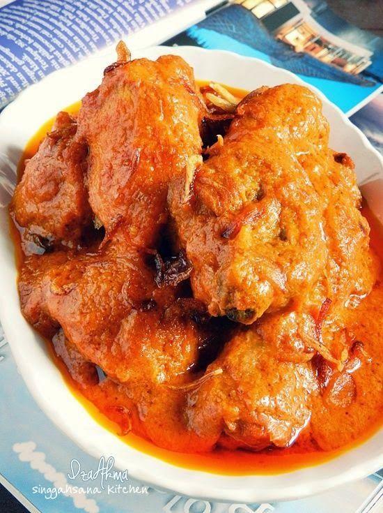 Ayam Masak Ros Mamak Penang Singgahsana Kitchen Memasak Resep Sederhana Resep Ayam
