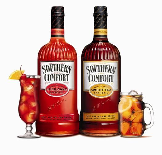 Review Southern Comfort Sweet Tea And Hurricane Cocktails