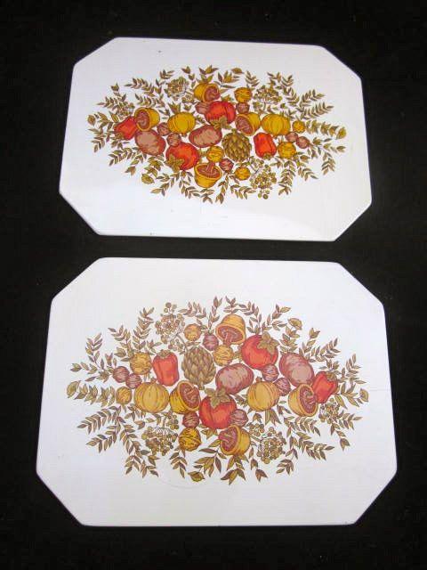 2 Stove Or Counter Hot Mats Pads Ballonoff Match Corning Spice Of Life O Corning Unique Artwork Corningware