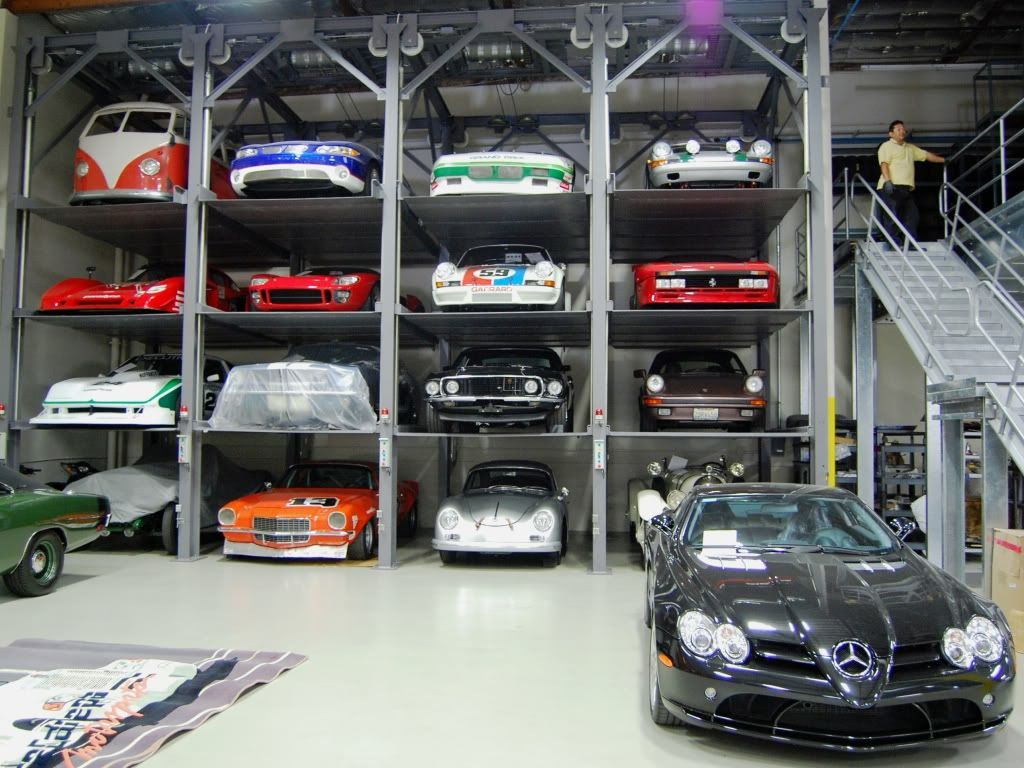 RaceDeck garage flooring ideas - cool garages with cool #hotorods ...
