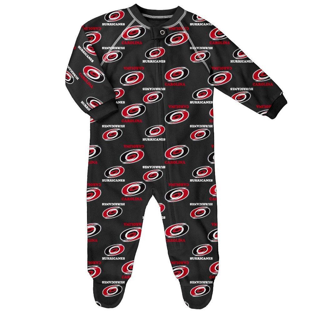 NHL Toddlers Little Boys Full Zip Raglan Logo Print Coverall NHL Teams