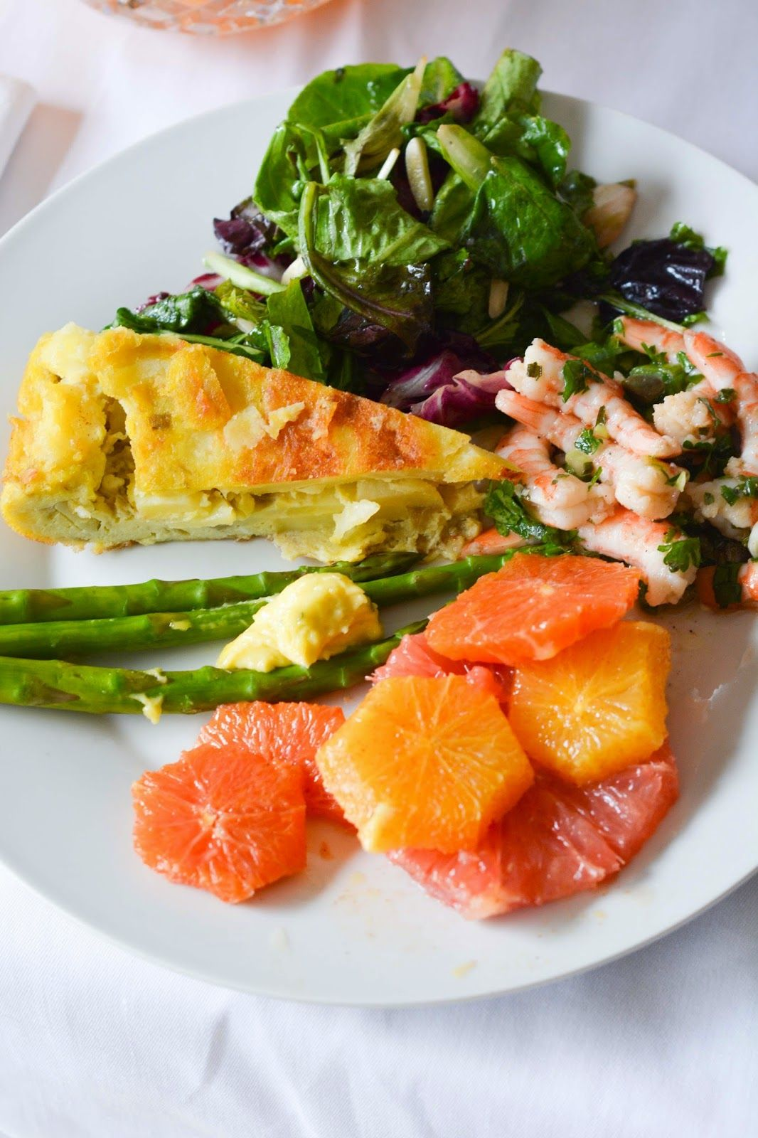 Spring brunch menu and recipes. Aesthetic Nest Cooking