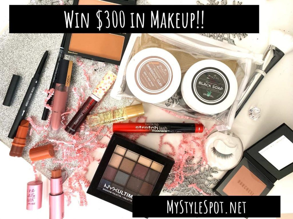 Giveaway Win 300 In Makeup Mystylespot In 2020 Beauty Giveaway Makeup Giveaway Giveaway