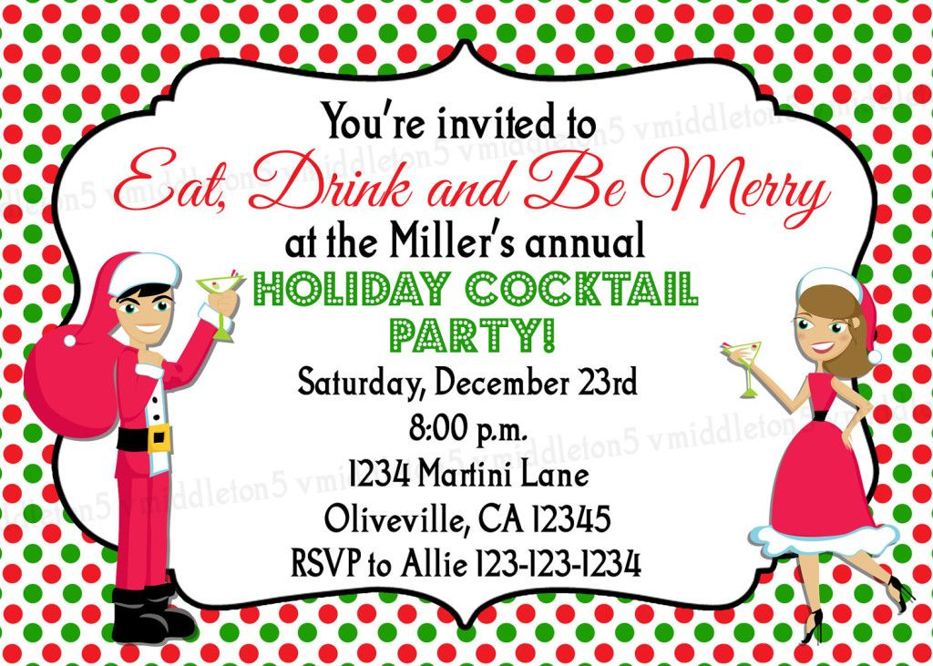 Image Result For Cocktails And Hors DOeuvres Party Invitation