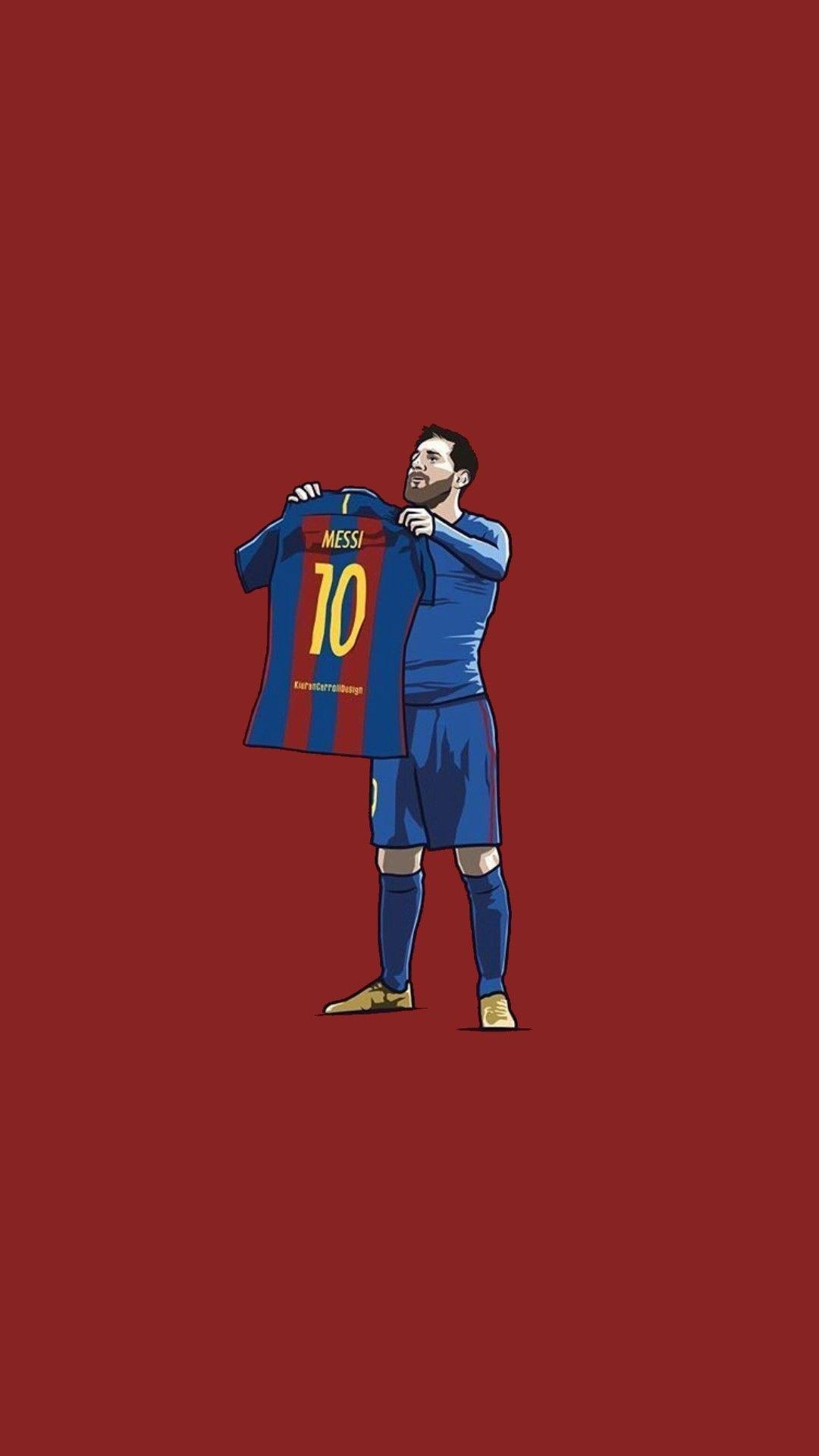 Messi Vs Real Madrid Wallpaper Jogadores De Futebol Desenho Futebol