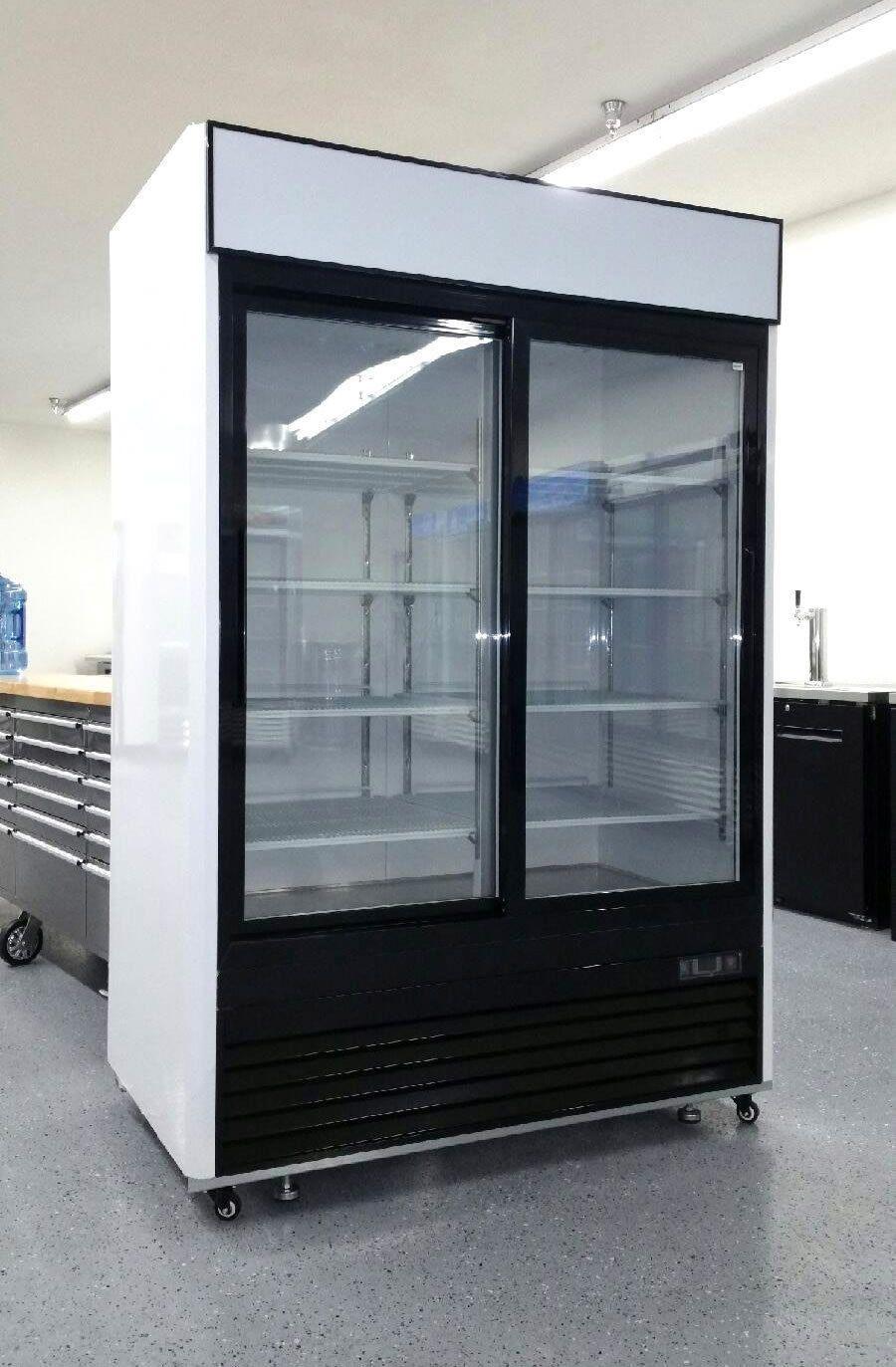 2 Door Sliding Glass Merchandiser Refrigerator Beverage Cooler Mcf8709 Beverage Cooler Beverage Refrigerator Refrigerator Sale