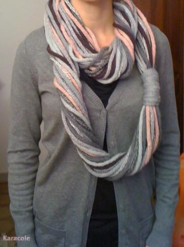 snood au tricotin phildar