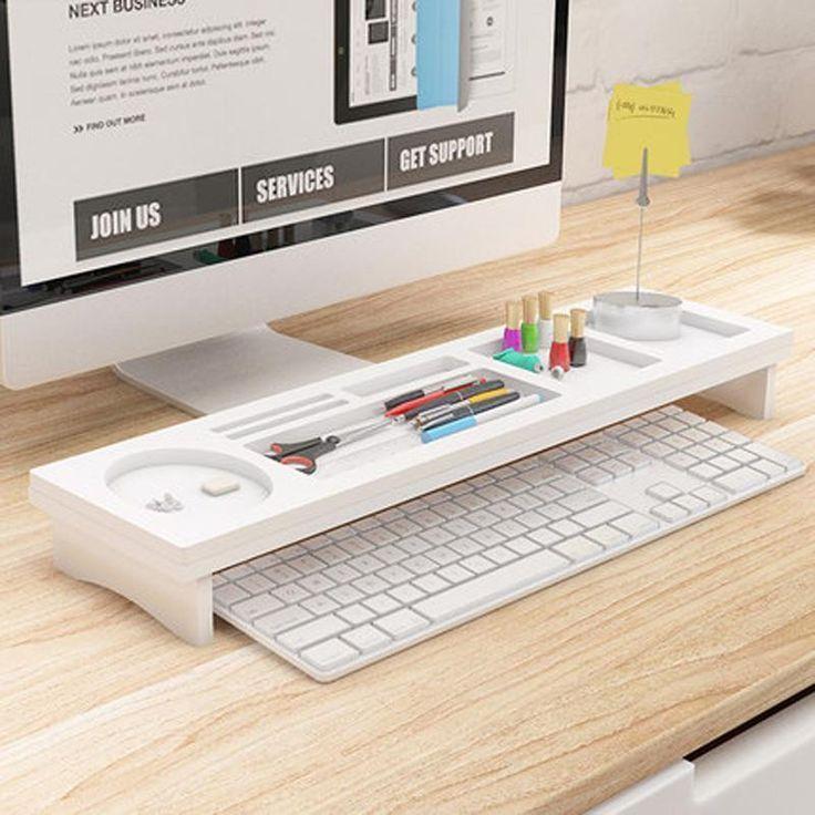 Modern Multifunctional Storage Box Desk Organizer Desk Organization Minimalist Desk Wooden Desk Organizer