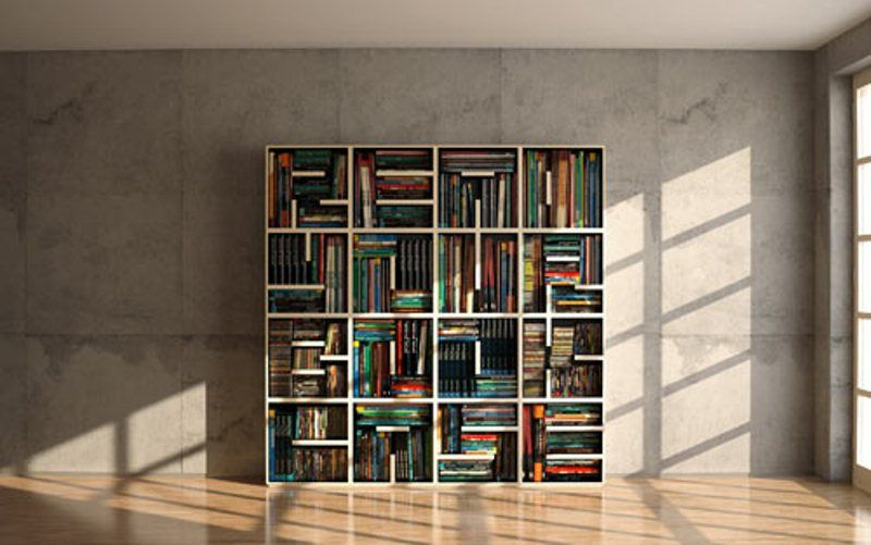 Cool Minimalist Bookshelf To Read It | DigsDigs