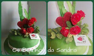 Os Bolinhos da Sandra: Rosas!