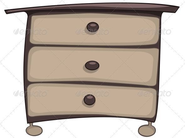 Cartoon Home Furniture Chest of Drawers | Drawers, Cartoon and ...