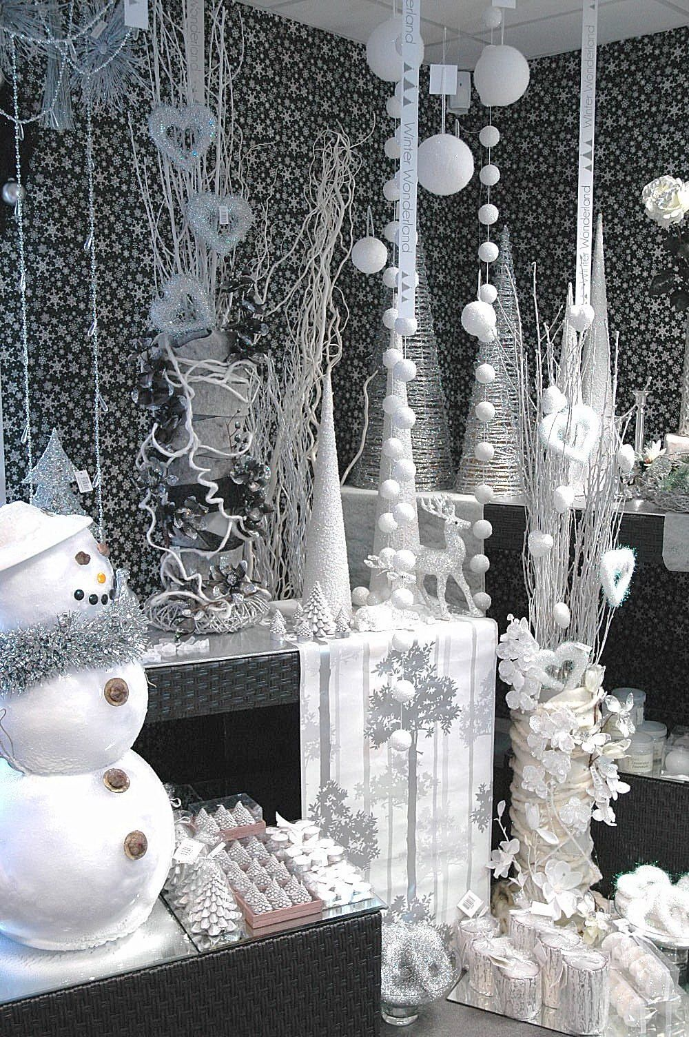A Winter Wonderland Display Similar To Elf And White Christmas