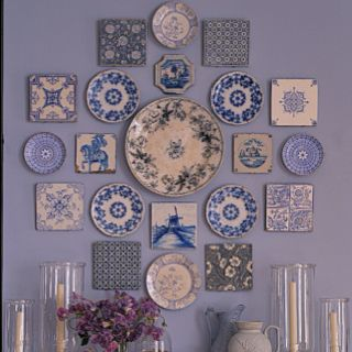 plate arrangement home style pinterest square plates wall