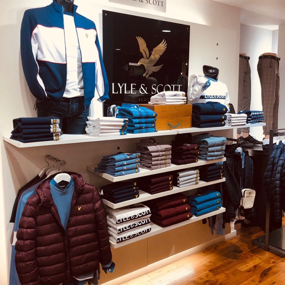 Living The Lyle Scott Life One Of Ej Menswear S Most Prominent Brands In Previous Years Is Back And Fully Stocked On The Shel Lyle Scott Lyle Weekend Is Over [ 960 x 960 Pixel ]