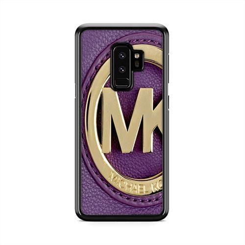 san francisco d224e 0fbe6 Michael Kors Purple Samsung Galaxy S9 Plus Case | Caserisa ...