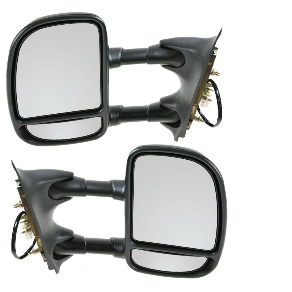 Make Auto Parts Manufacturing Power Towing Mirrors For Ford F250 2004 F 250 Super Duty Mirror Cover F350 F450 F550 99 04 Truck Folding Pair Set Left And Right
