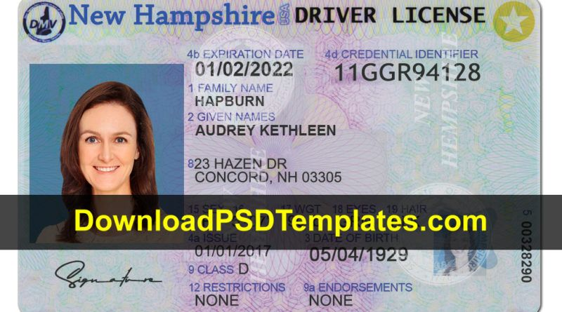 Drivers license in 2020 drivers license passport