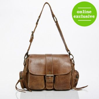 8cd8bf462e Medium Emily Bag in Vintage Tribe Leather