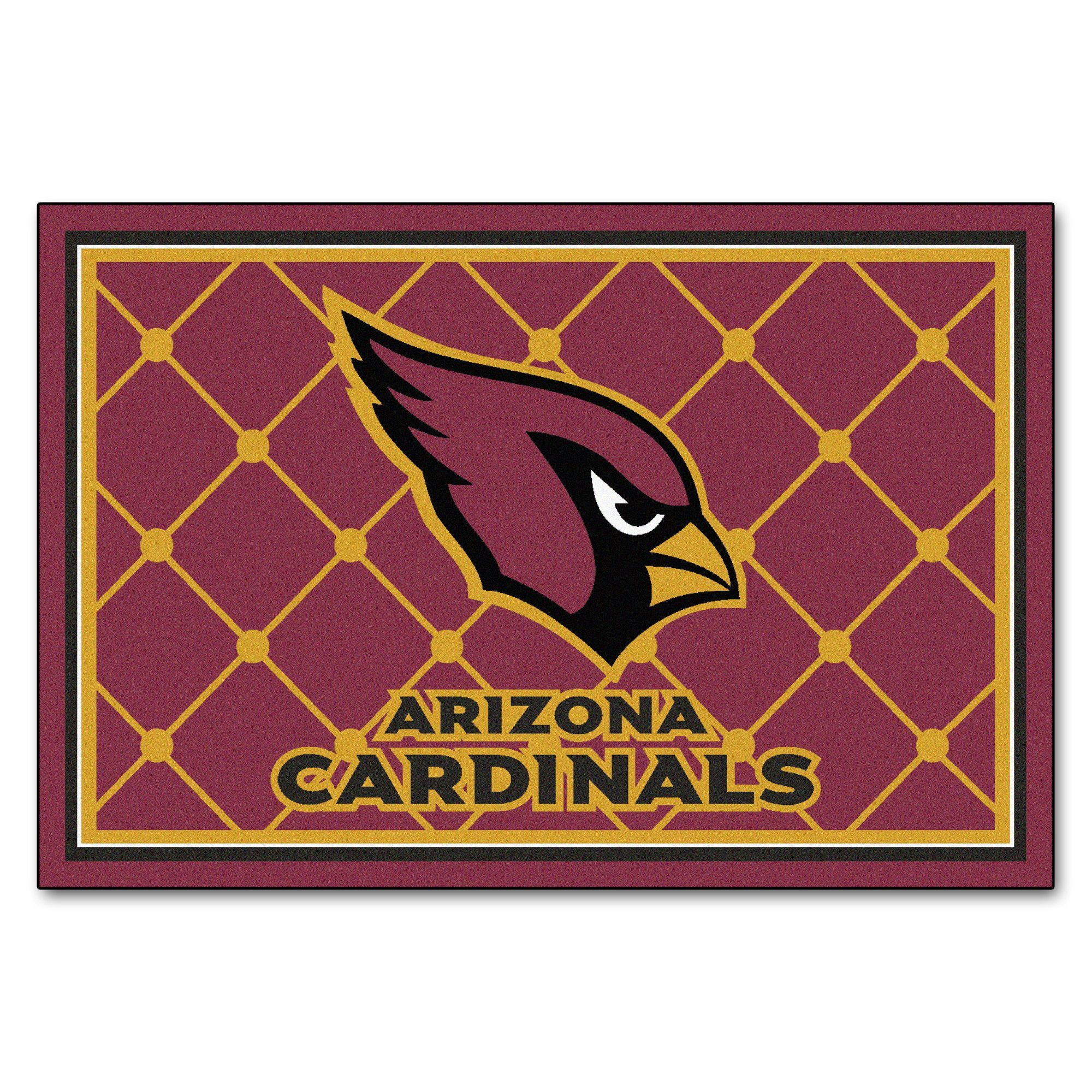 NFL Arizona Cardinals Rug 5x8 Show your team pride and add style