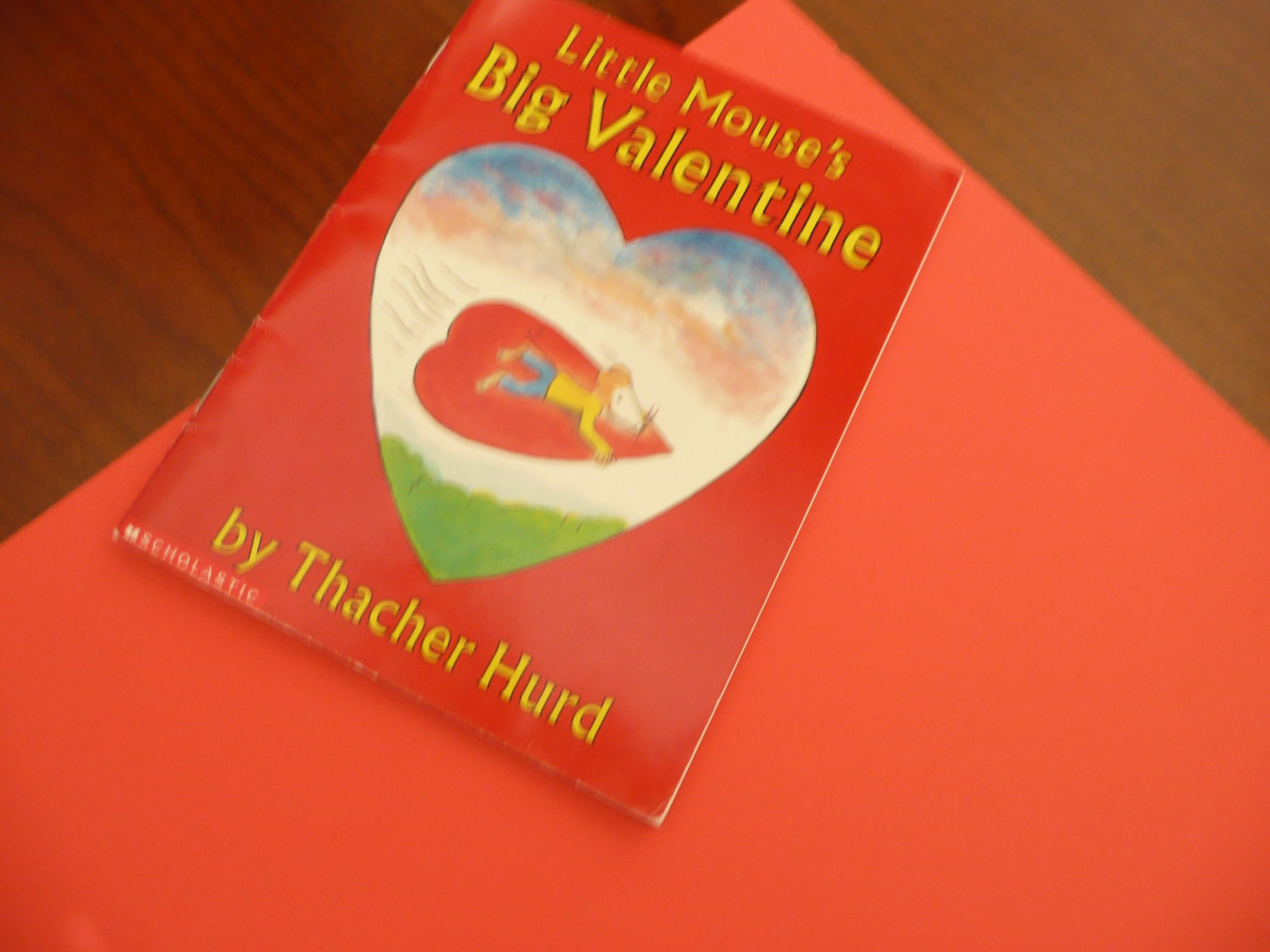 Little Mouse's Big Valentine - Book and Activity