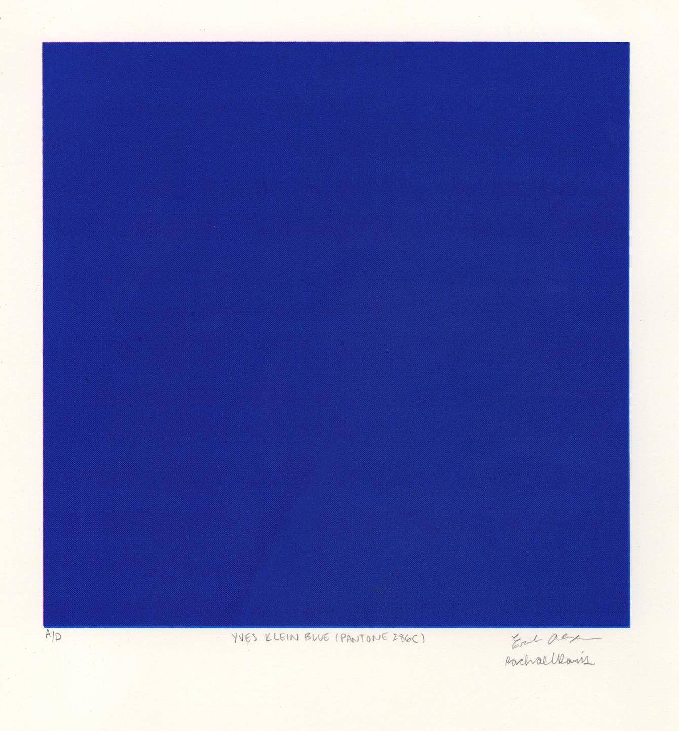 pantone klein blue