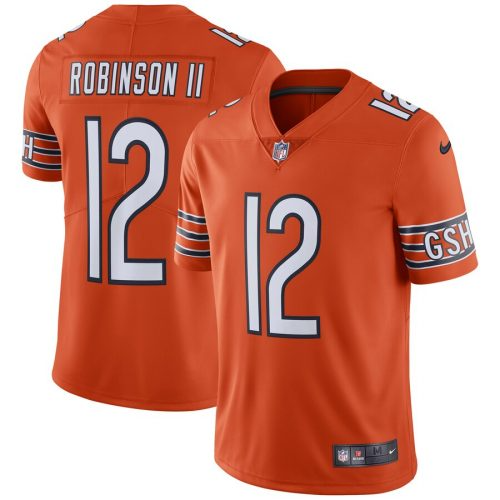 Allen Robinson Chicago Bears Team Color Vapor Untouchable Limited Jersey Orange 2019 6 Jpg In 2020 Chicago Bears Allen Robinson Team Colors