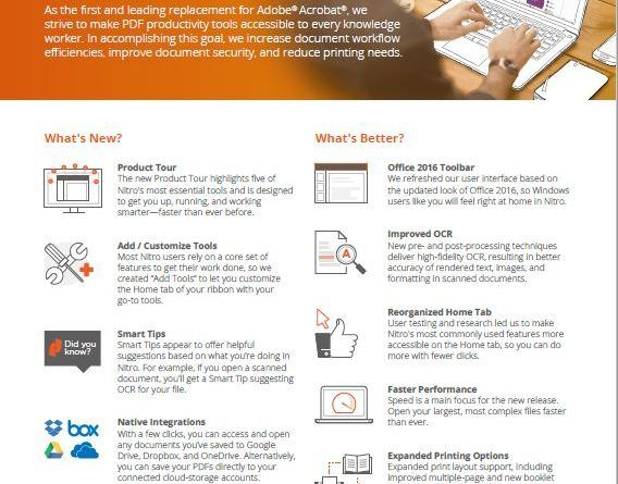 Nitro, The PDF Solution for the Enterprise | Product Reviews