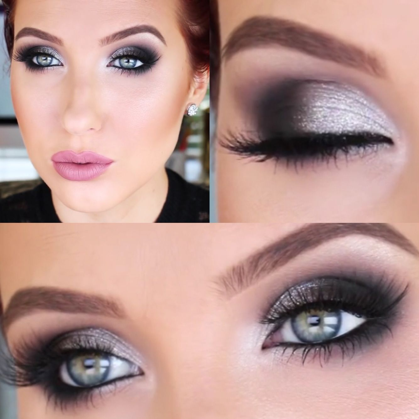 Classic Bombshell Smokey Eye Jaclyn Hill On Youtube With Images