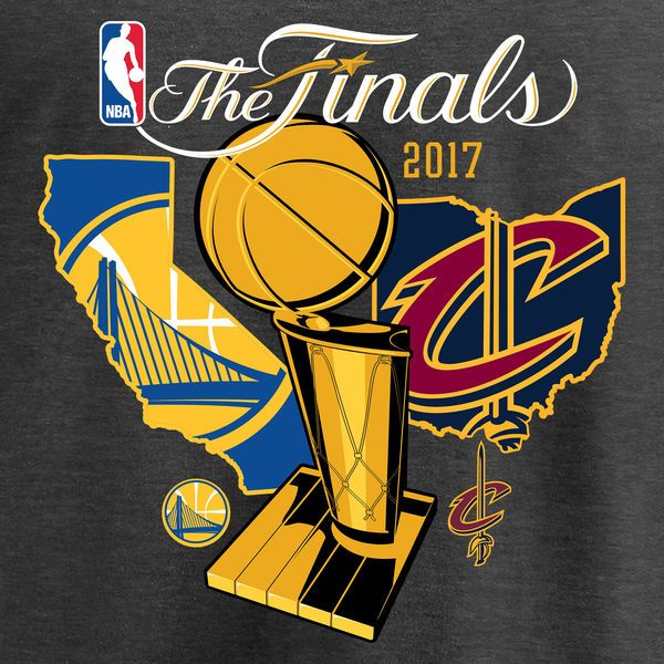 Cleveland Cavaliers Vs Golden State Warriors Fanatics Branded 2017 Nba Finals Bound Dueling Team Ma Basketball Pictures Basketball Funny Golden State Warriors