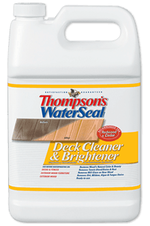 Thompson S Waterseal Wood Deck Cleaner Brightener Deck Cleaner Wood Deck Cleaner Wood Deck