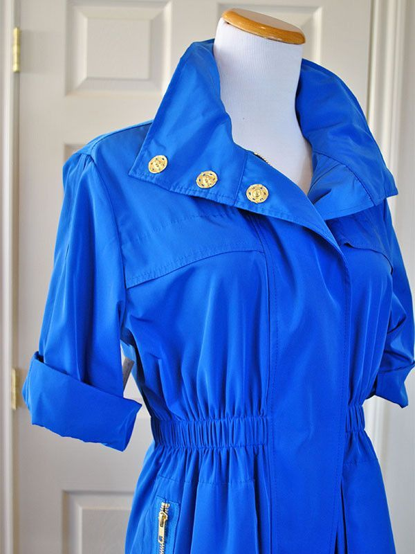French Blue Anorak