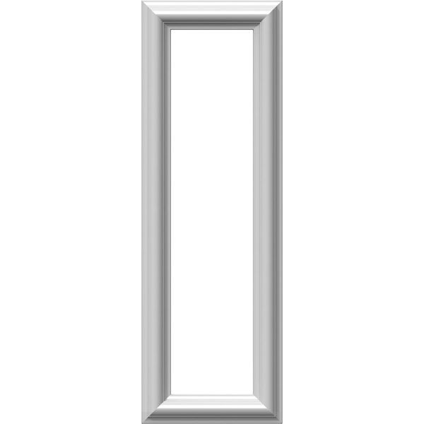 8 Inch W X 24 Inch H X 1 2 Inch P Ashford Molded Classic Wainscot Wall Panel Wall Paneling Ekena Millwork Frames On Wall
