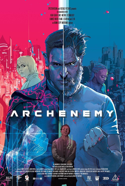 Archenemy Movie Starring Joe Manganiello In 2020 Joe Manganiello The Fame Monster Latest Movie Trailers