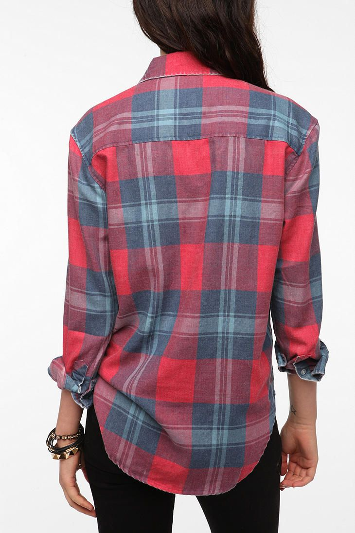 Flannel shirt outfits for women  byCORPUS Burnout Flannel Shirt Awesome Confidence  LOVE IT