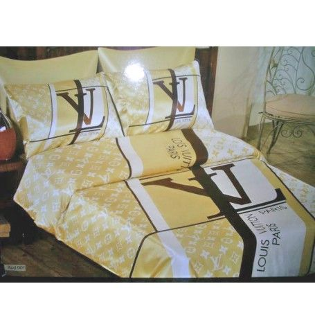 LOUIS VUITTON SATIN BED SHEET SET These are the most ...