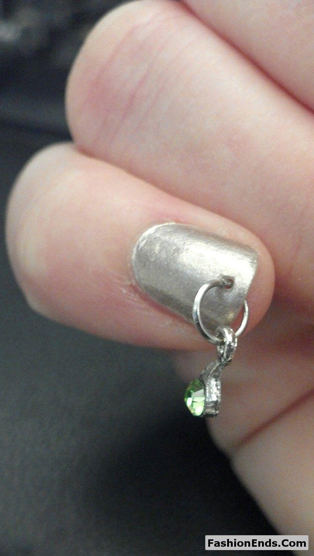 Latest Piercing Nail Design   nail piercing   Pinterest   Nail ...