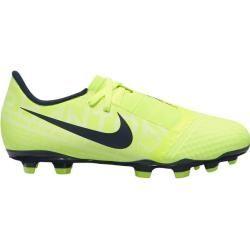 Nike Kinder Fußballschuhe Jr Phantom Vnm Academy Fg, Größe 37 ½ In Volt/obsidian-Volt, Größe 37 ½ In