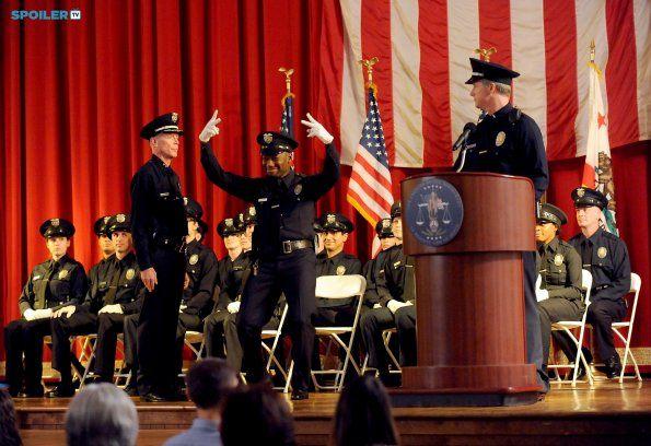 "#NewGirl 4x12 ""Shark"" - Winston celebrates his graduation from the police academy."